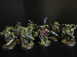 painting plague marines death guard 40k
