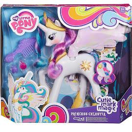 MLP Talking Pony Princess Celestia Brushable Pony