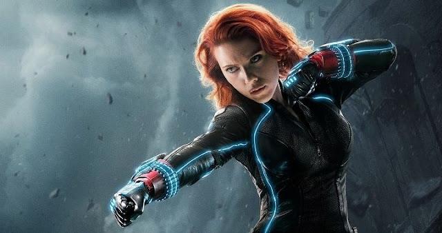Scarlett Johansson y la película de Black Widow