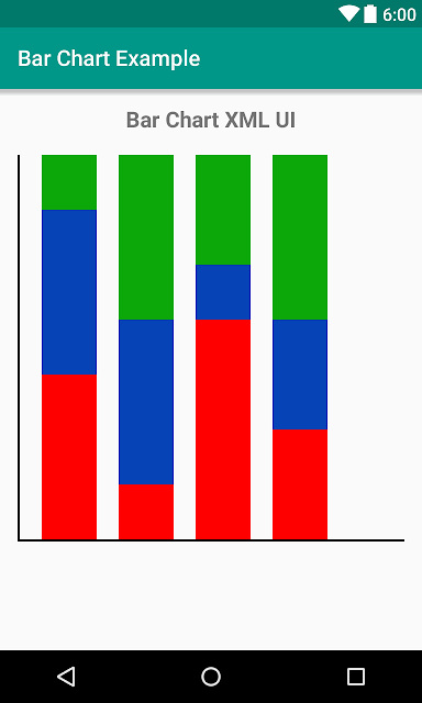 Android Example: How to Make Bar Chart XML UI Design in Android