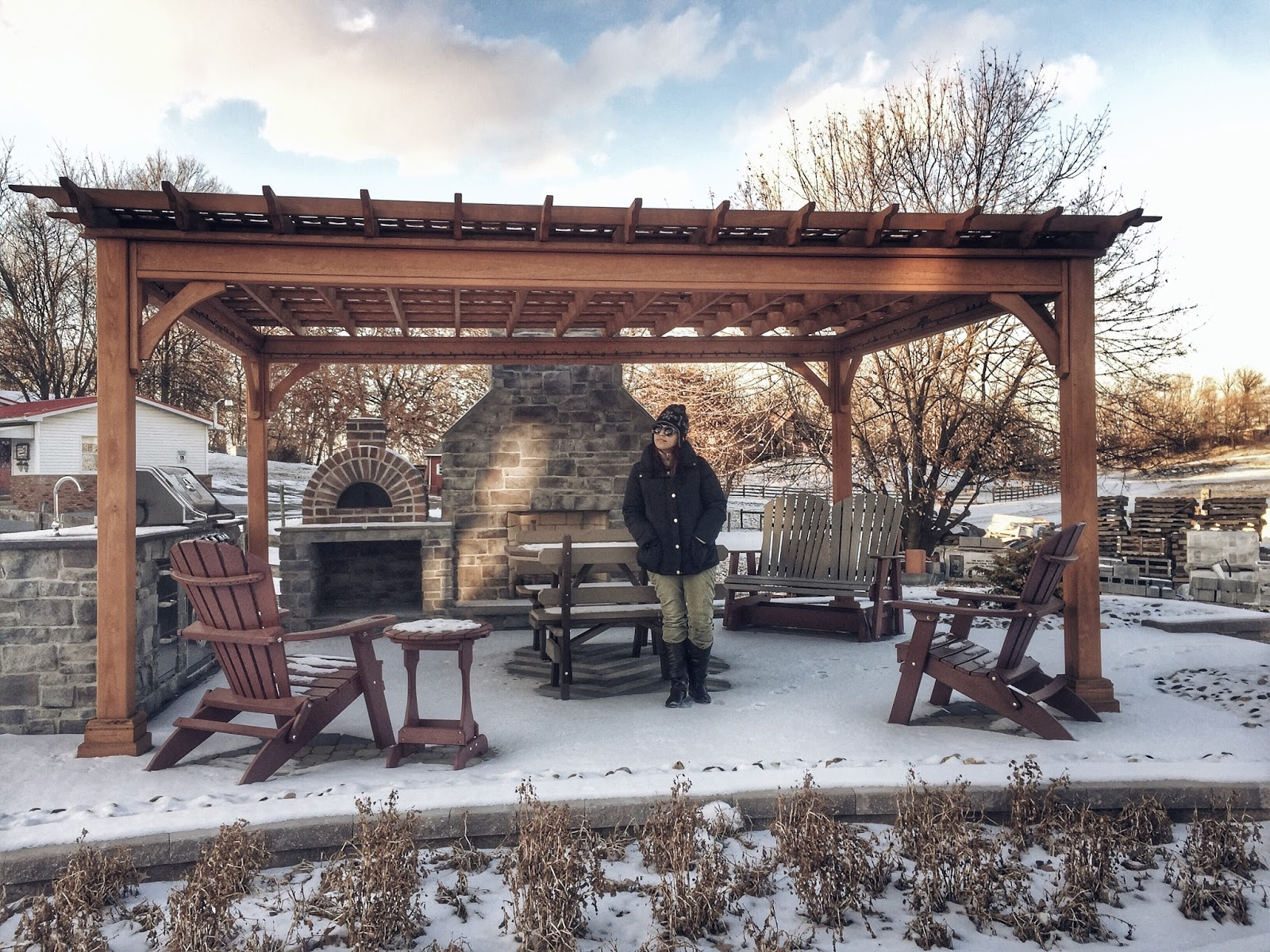 A new beginning-look of the day-pen mark park-pennsylvania- winterwonderland-winter-travel blogger-blogger style-los chuchis-travel bloggers-traveling-discovering-visit PA