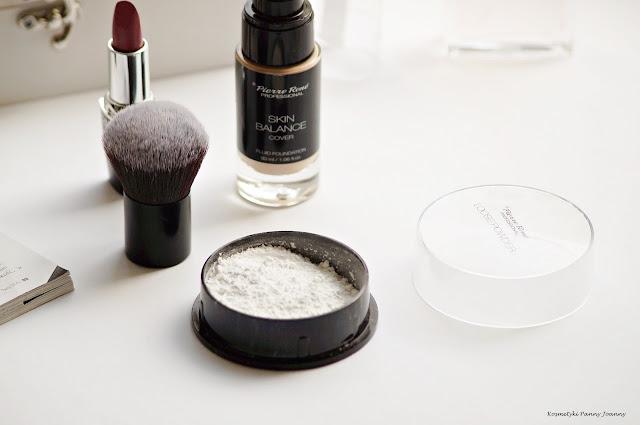 Loose Powder - puder ryżowy Pierre Rene oraz Skin Balance tanie kosmetyki