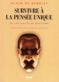Survivre à la pensée unique, Alain de Benoist