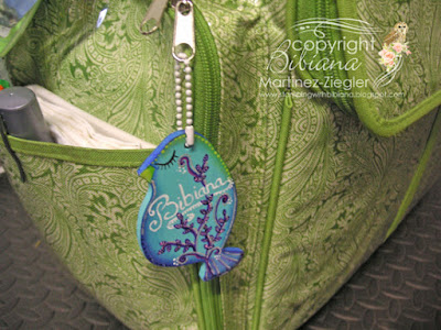 tutorial wood bird name tag with decoart on tote