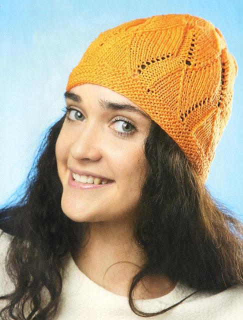 "Шапочка «Апельсин». Lady summer hat ""Orange"""