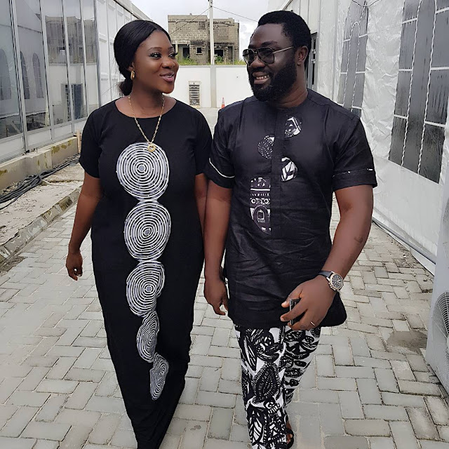 Lovely Photo Of Mercy Johnson And Her Husband, Prince Okojie