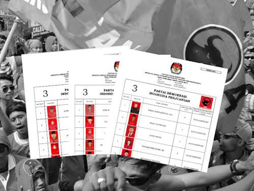 Daftar Calon Sementara Anggota DPRD Kota Bandung Pemilu 2019 dari PDIP