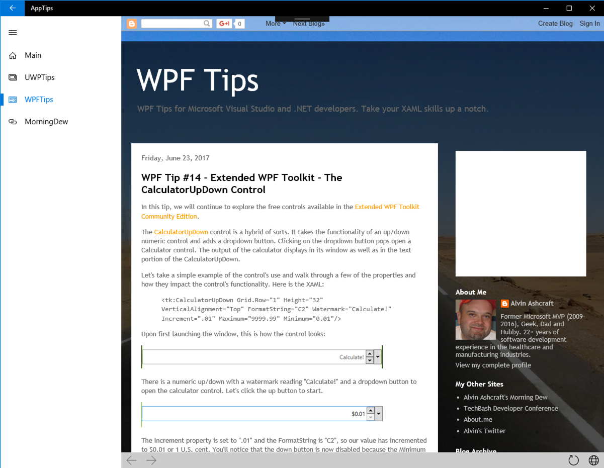 UWP App Tips: UWP Tip #1 - Build Your First App with Windows