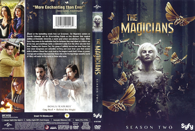 The Magicians Season 2 DVD Cover