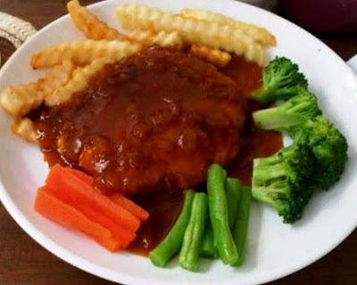 Foto Resep Steak Tempe Vegetarian Sederhana Saus Tomat Asli Enak