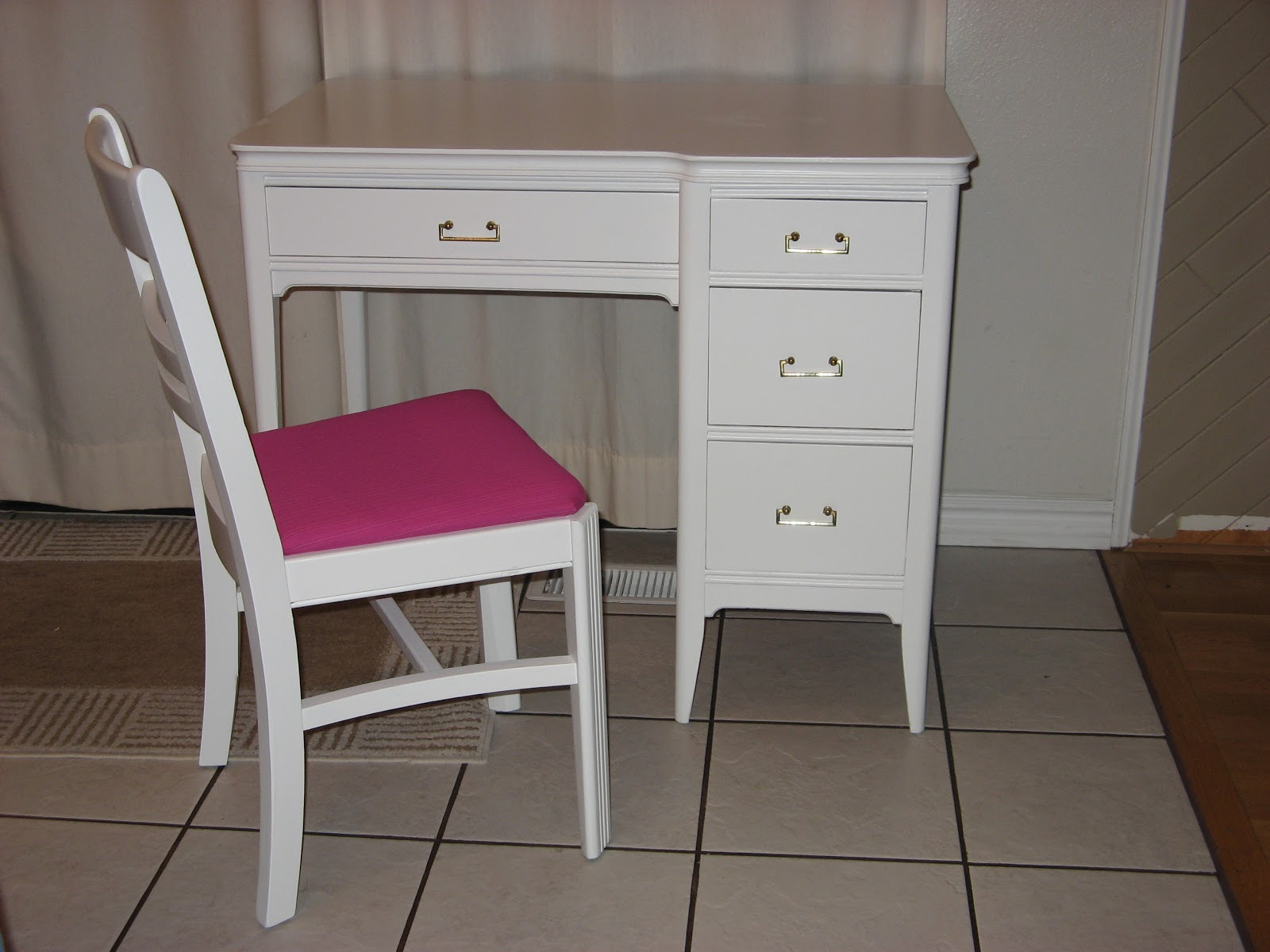 Max Refinished Into This Sweet Little S Desk For Hailey