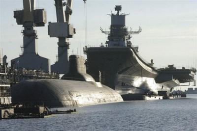 Rússia mostra o maior submarino nuclear do mundo