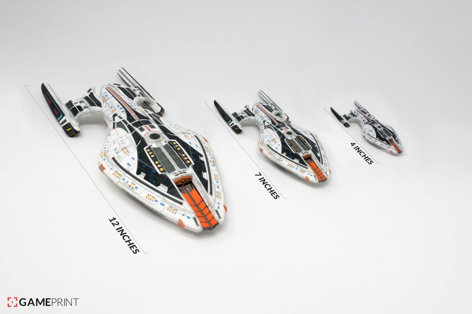 how to draw star trek ships