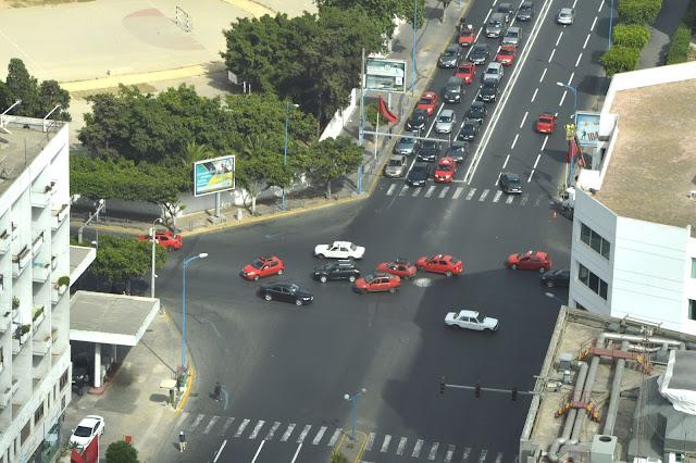 Miałam wypadek samochodowy w Casablance