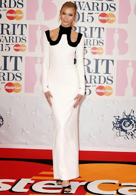 Karlie Kloss BRIT Awards 2015