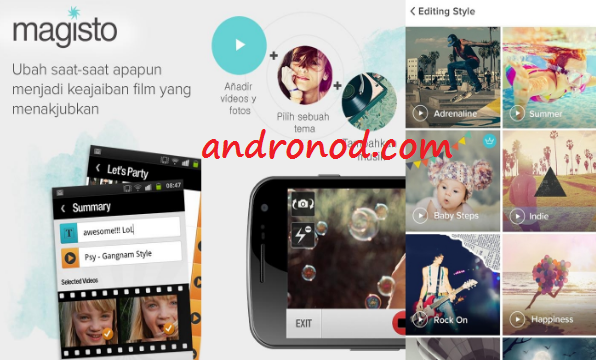 Donwload dan Cara Penggunaan Magisto Video Editor & Maker: Aplikasi Edit Video Di Android