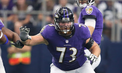 Ravens Marshall Yanda Out for the Season
