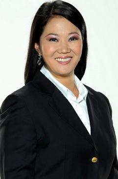 Foto de Keiko Fujimori más flaca