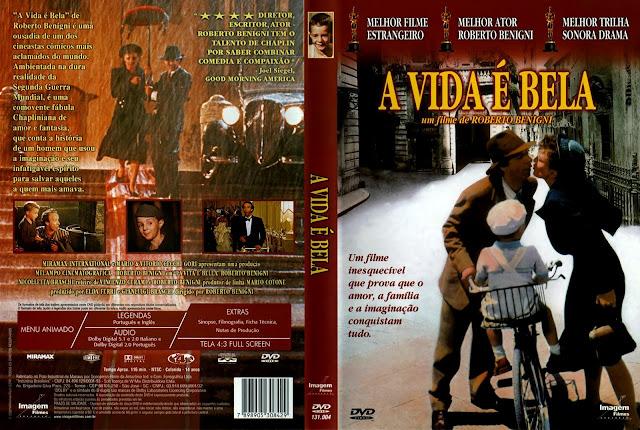 Capa DVD A Vida É Bela