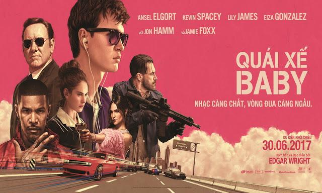 posterul filmului baby driver