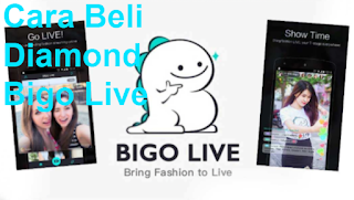 cara beli diamond Bigo live dengan pulsa