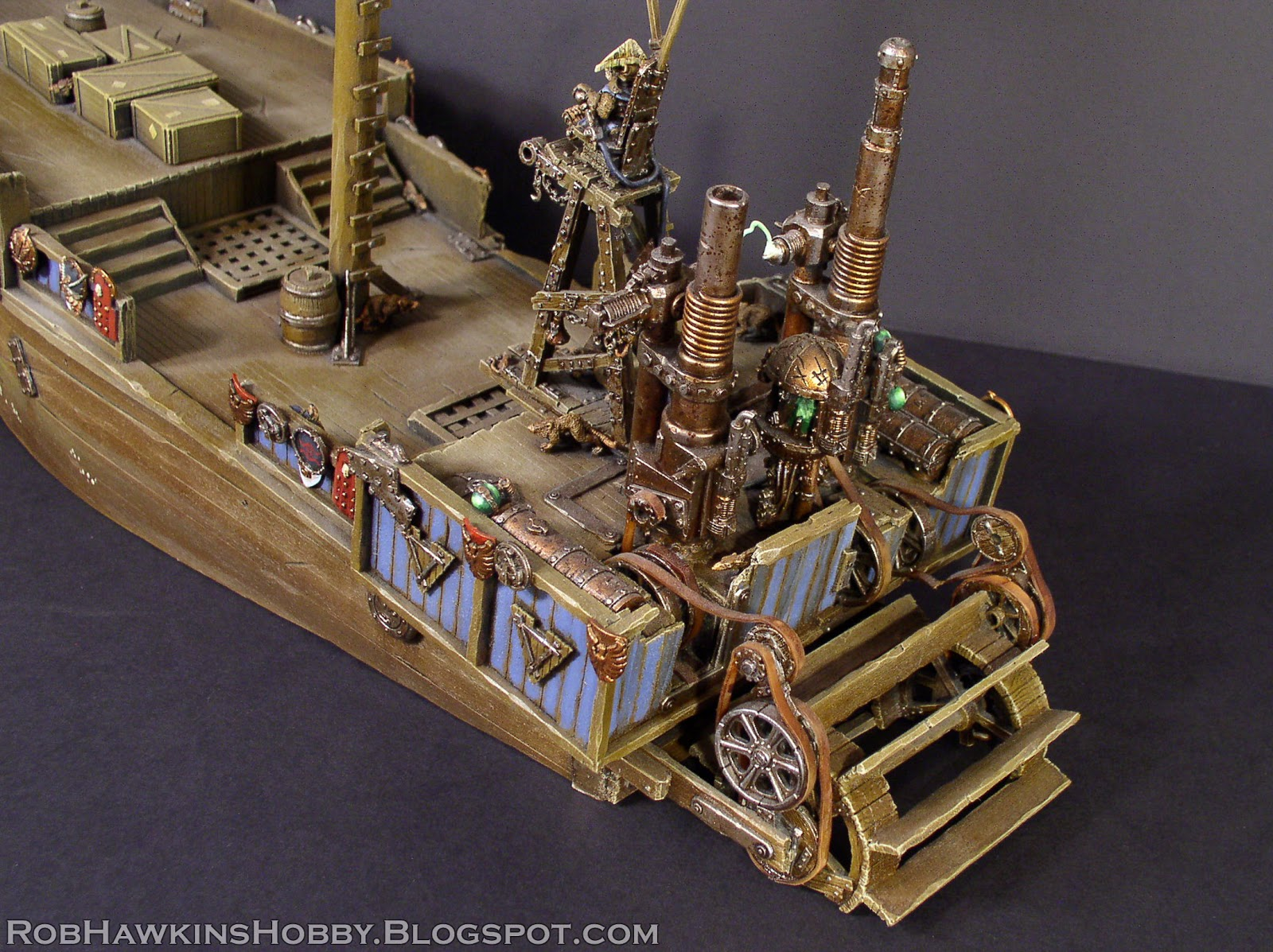 Rob Hawkins Hobby Skaven Pirate Ship