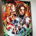 Pinturas de filmes de super-heróis e vilões