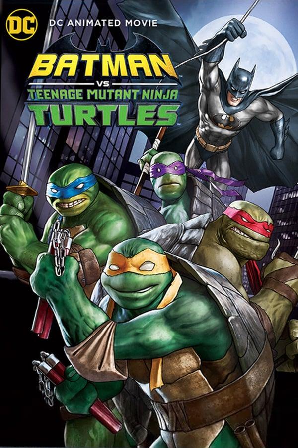 Download Batman vs. Teenage Mutant Ninja Turtles (2019) WEB-DL Subtitle Indonesia