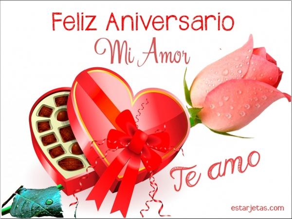 Feliz Aniversario Mi Amor: FELIZ ANIVERSARIO MI VIDA!💍💏 Gracias Por Los Momentos Tan