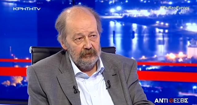 Ο Δ. Κωνσταντακόπουλος στον Γιώργο Σαχίνη στο ΚΡΗΤΗ TV