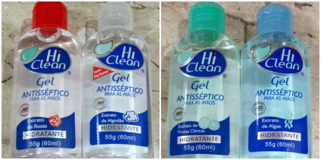 Gel Antisséptico Hi Clean 3