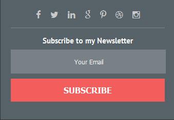 Бесплатная html форма подписки на сайт | подписаться на рассылку по email | Feedburner