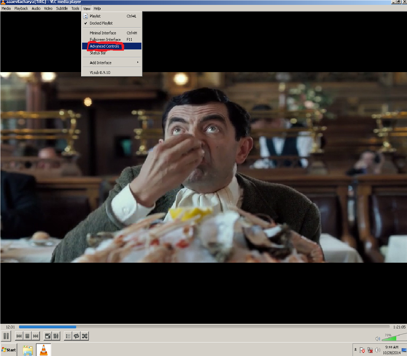 How To Record A Desired Part Of A Video From Any Movie Or A Video Clip Using VLC
