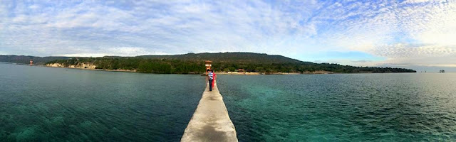 View of Pacman Beach Resort Complex