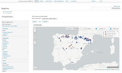 http://datos.gbif.es/generic-hub/occurrences/search?