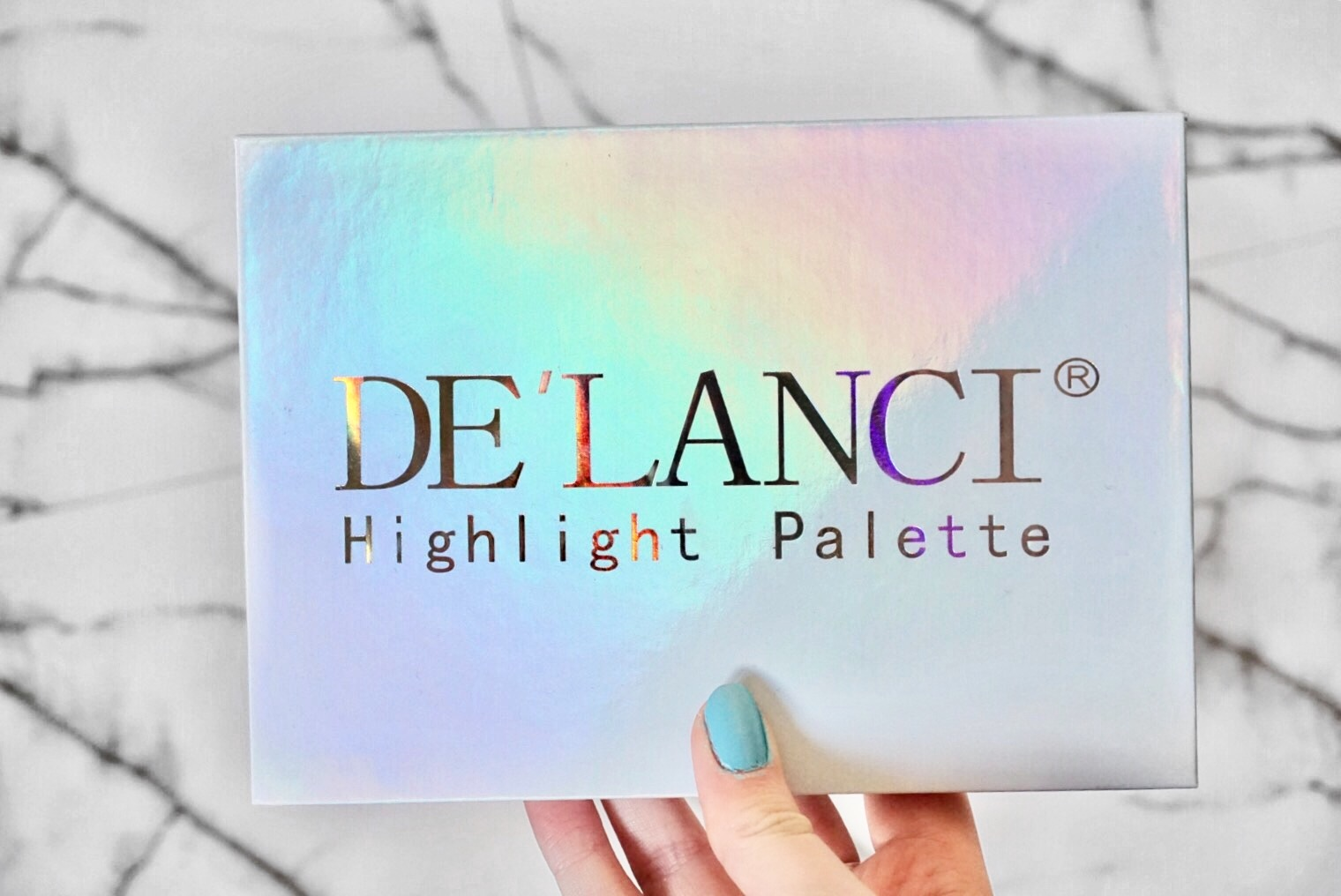DE'LANCI Highlight Palette Packaging