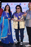 Gracy Singh and Bappi Lahiri   Blue Mountain Music Launch IMG 0669.JPG