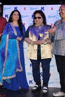 Gracy Singh and Bappi Lahiri   Blue Mountain Music Launch IMG 0669.JPG
