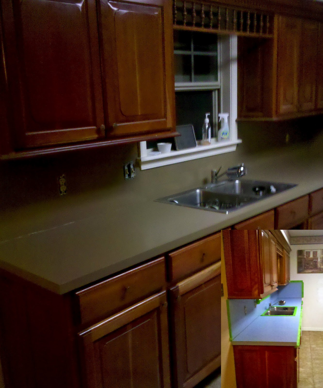 Countertop Makeover: Rustoleum Laminate Coating