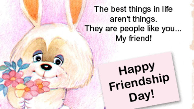 Friendship Day ecard and clipart 2018