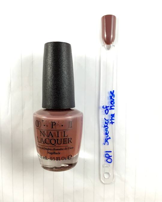 Tori's Pretty Things // OPI Squeaker of the House Swatch