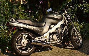 Wallpaper: Honda NTV650 Motorcycle