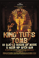 9th King Tuts Tomb Egyptian Theatre LA Halloween