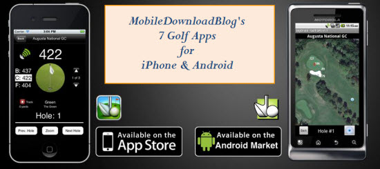 Golf Apps for Android and iPhone