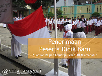 Info PPDB SDI Al Amanah