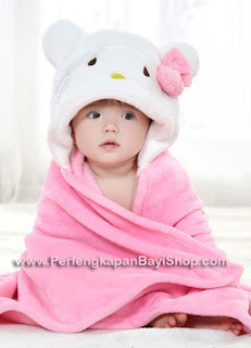 Selimut Bayi Lucu Animal Character Hello Kitty
