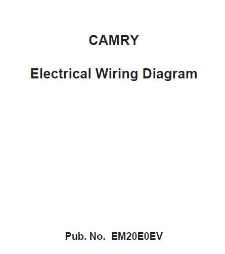 Electrical Wiring Diagram Toyota Camry 2012 (ACV 51_ASV 50