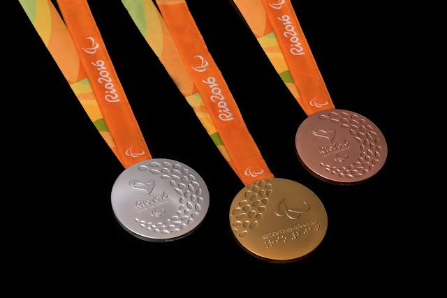 JUEGOS PARALÍMPICOS Río de Janeiro 2016 - Medallero