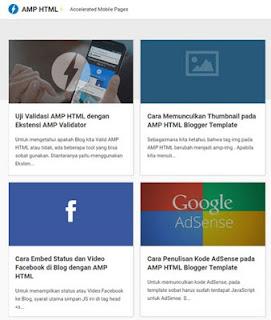 AMP HTML Blogger Template Kang Ismet