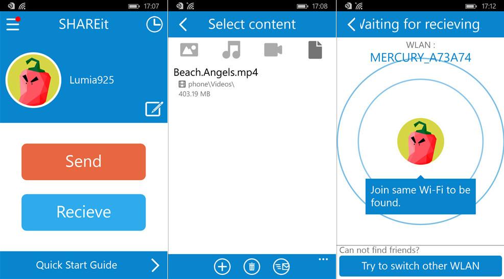 SHAREit beta Ultima Version Android